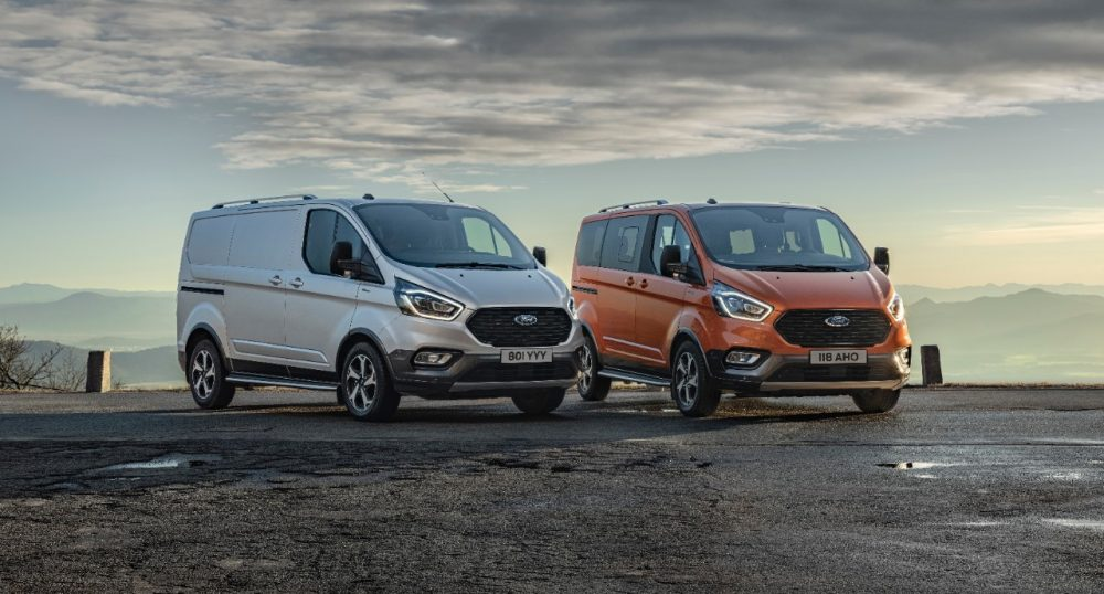 2020 Ford Tourneo Active and Transit Custom Active