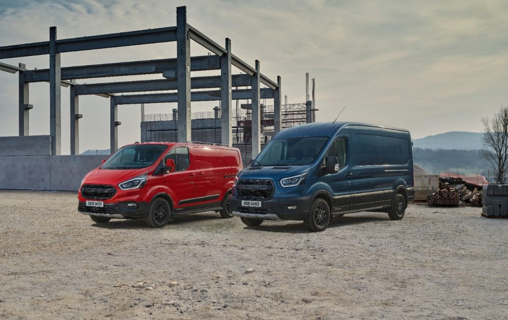 2020 Ford Transit Custom Trail and Transit Trail | Ford is Europe's CV Sales Leader for Sixth Straight Year