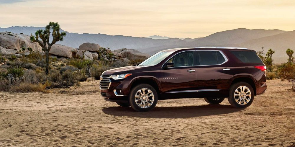 chevy traverse increased vehicle sales