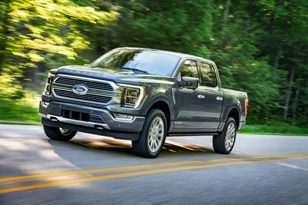 2021 Ford F-150 reveal photos