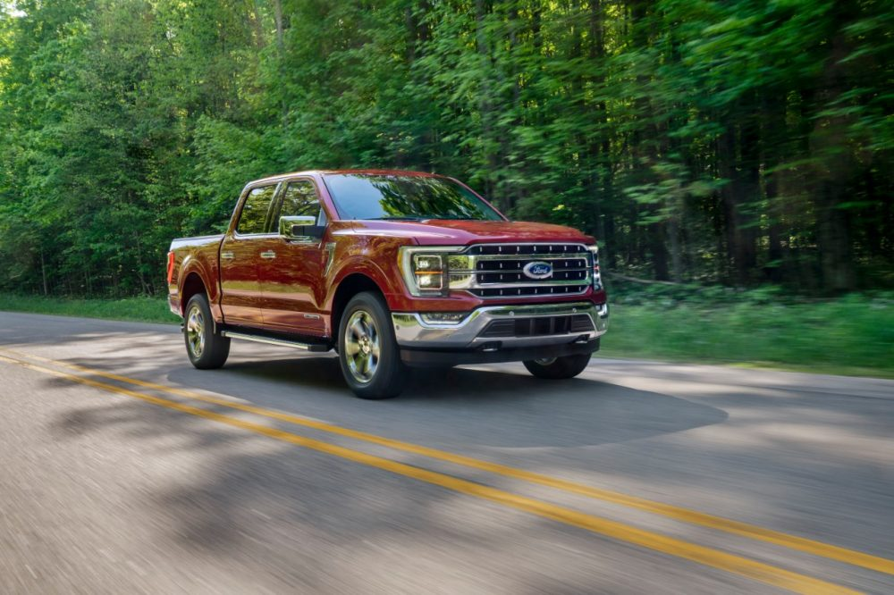 2021 Ford F-150 reveal photos | Ford Q1 2021 Sales Up Thanks to F-Series, Bronco Sport