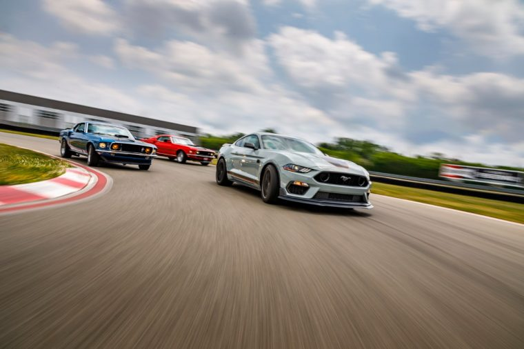 2020 Ford Mustang Mach 1 Price
