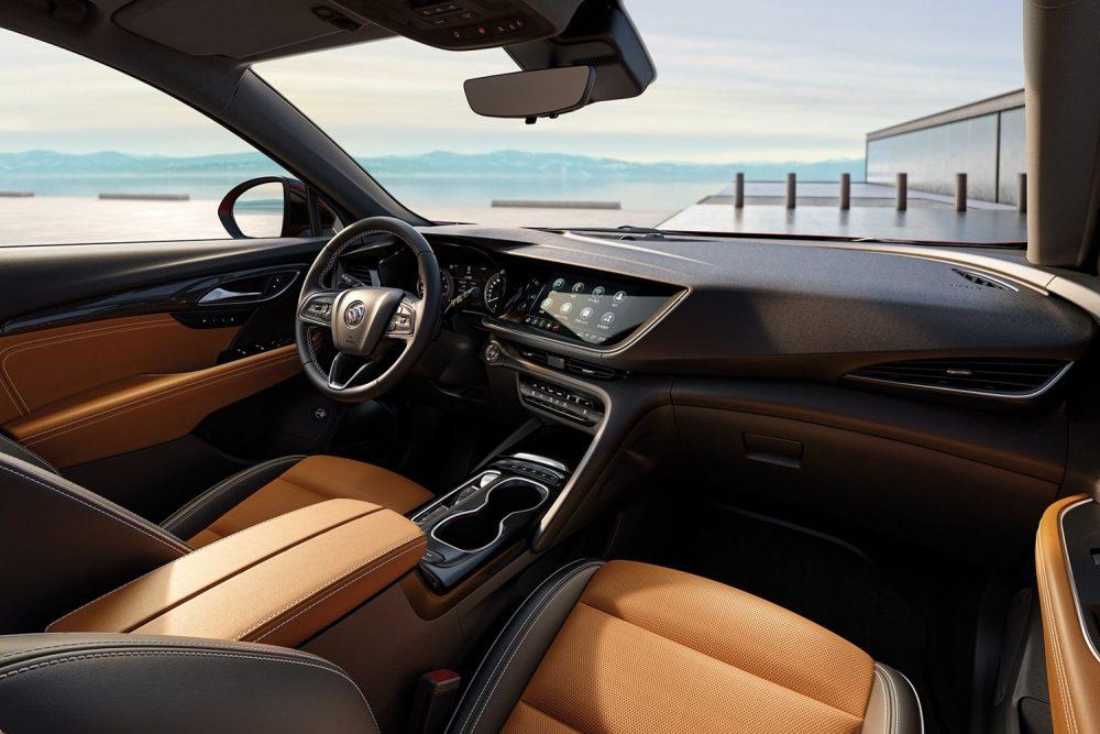 A beautiful Buick interior
