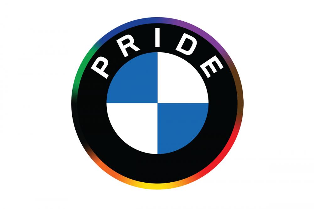 BMW LGBTQ Pride Logo