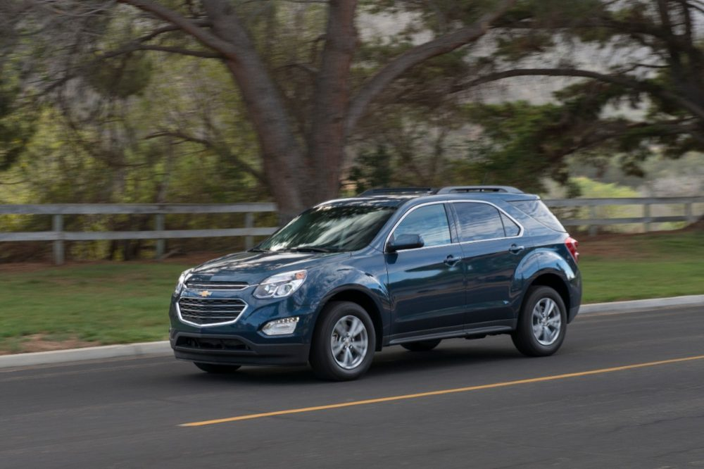 The 2016 Chevrolet Equinox is a Best Used Car Under $20,000