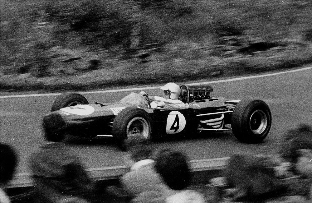 Jack Brabham, one of the first working-class Formula 1 champions