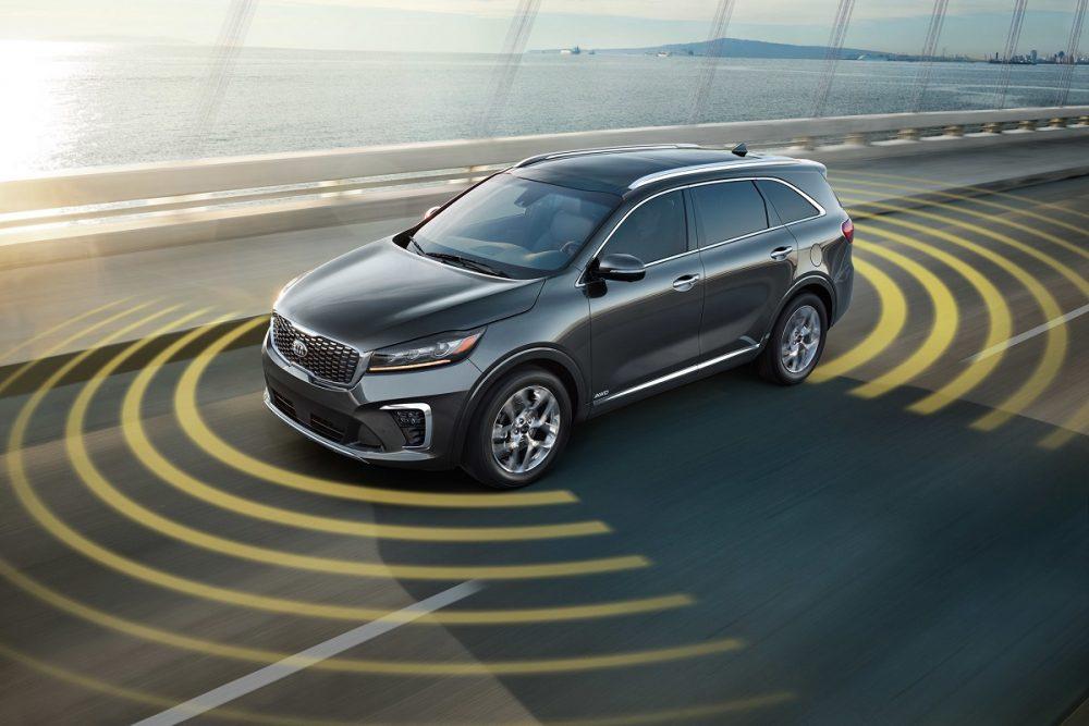 Kia Drive Wise Technology Radar