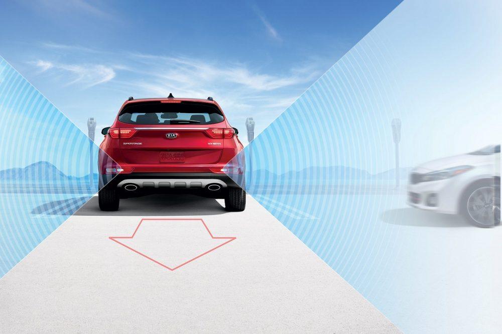 Kia Drive Wise Technology Rear Cross-Traffic Alert
