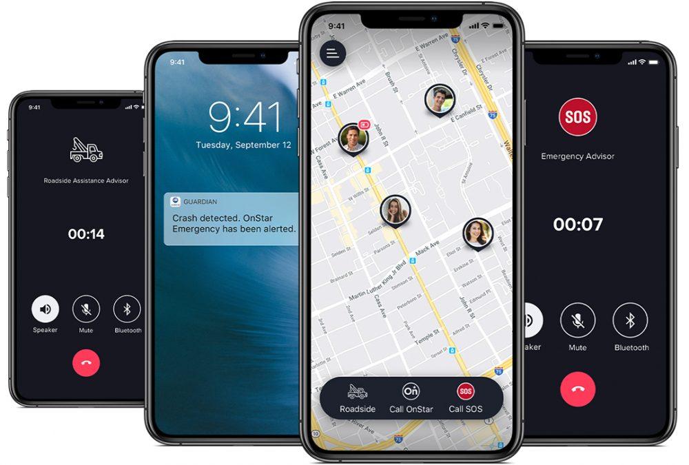 The OnStar Guardian app