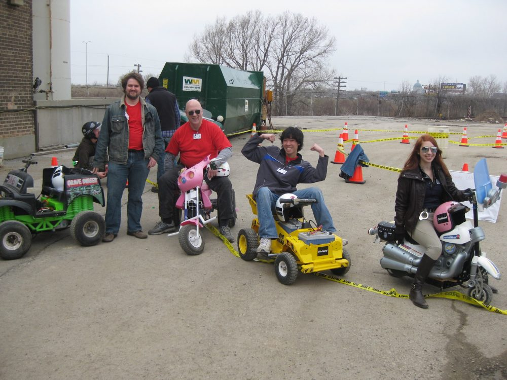 power wheels racers