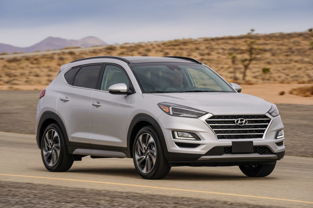 Hyundai Tucson sales September