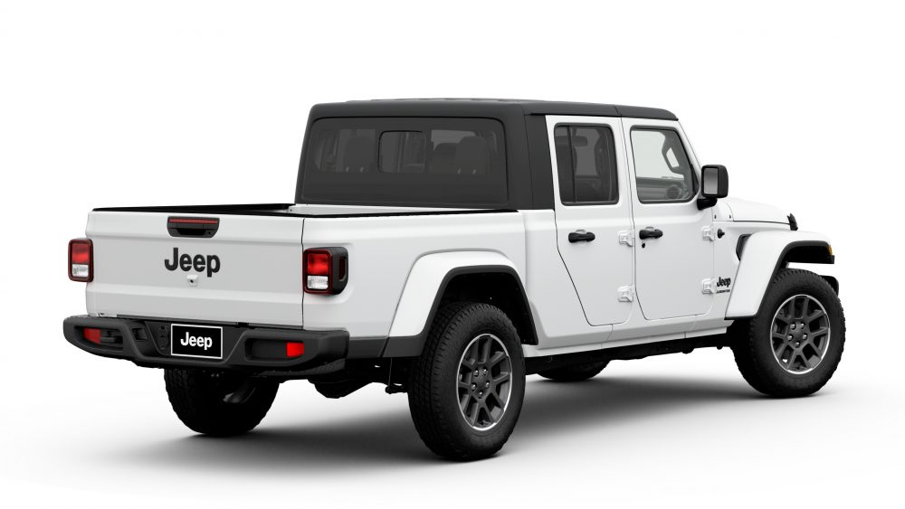 The rear of the 2020 Jeep Gladiator Altitude