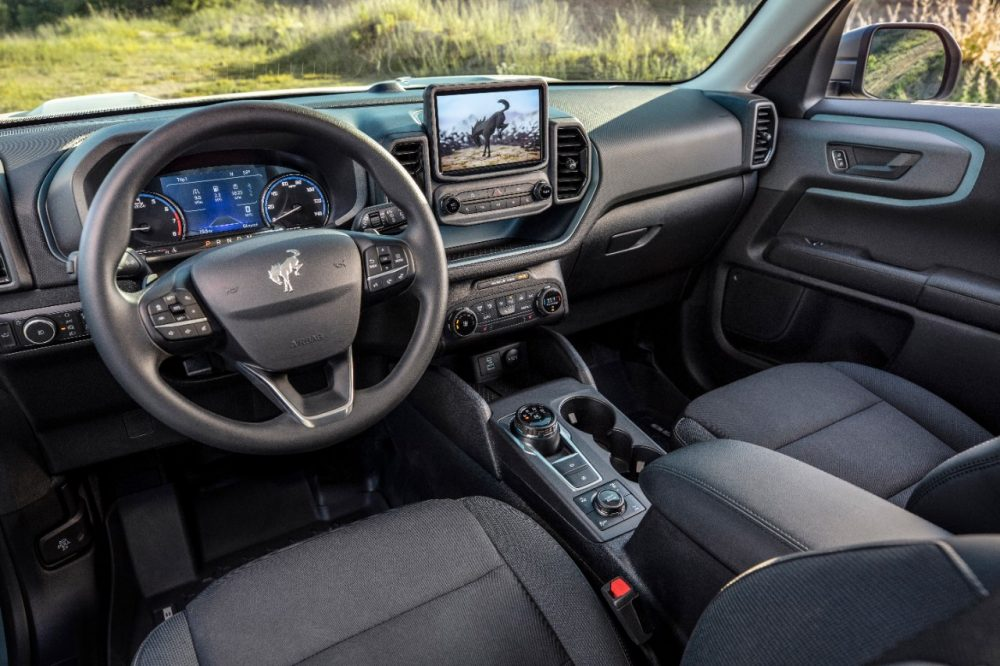 2021 Ford Bronco Sport Interior