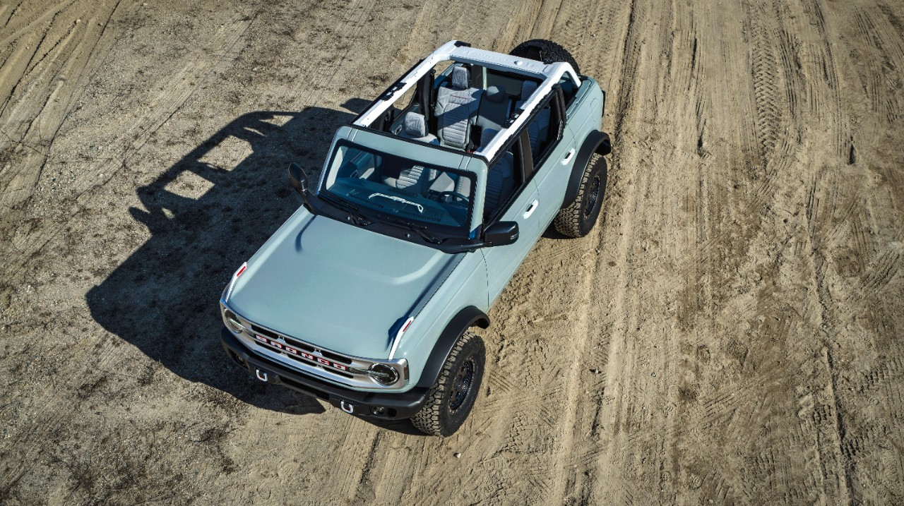 2021 Ford Bronco four-door