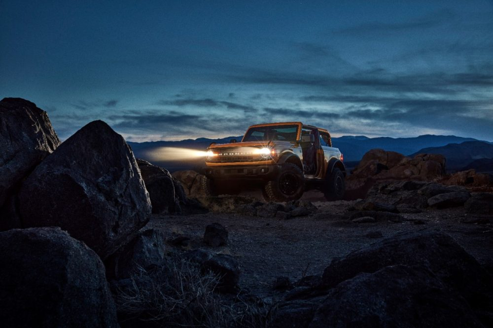 2021 Ford Bronco two-door