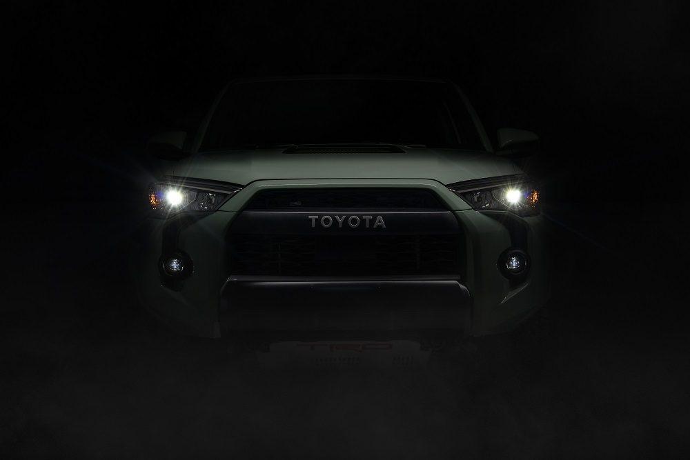 2021 Toyota 4Runner TRD Pro LED headlights
