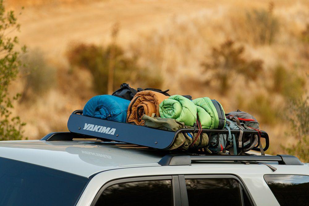 2021 Toyota 4Runner Trail Edition Yakima LoadWarrior rooftop cargo basket