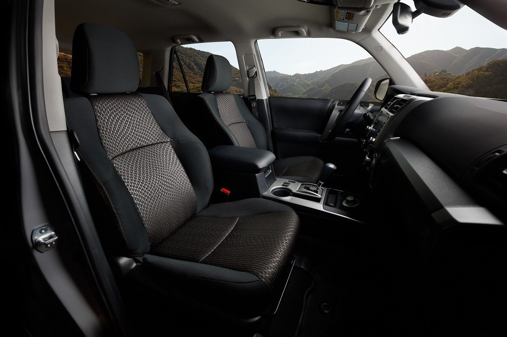 2021 Toyota 4Runner Trail Edition interior front