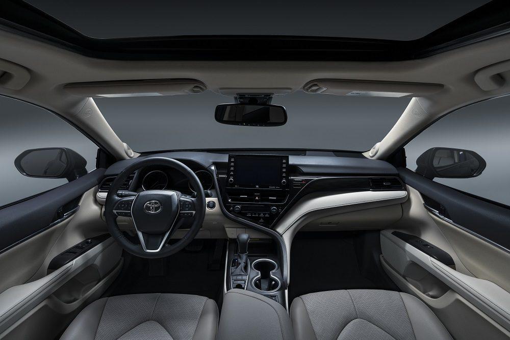 2021 Toyota Camry XLE interior