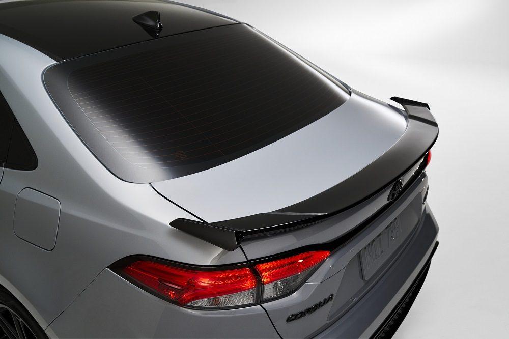 2021 Toyota Corolla Apex Edition spoiler