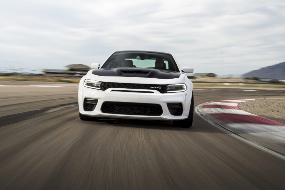 2021 Dodge Charger SRT Hellcat Redeye on the race track
