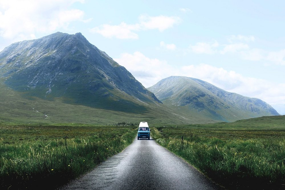 Camping road trip in the UK