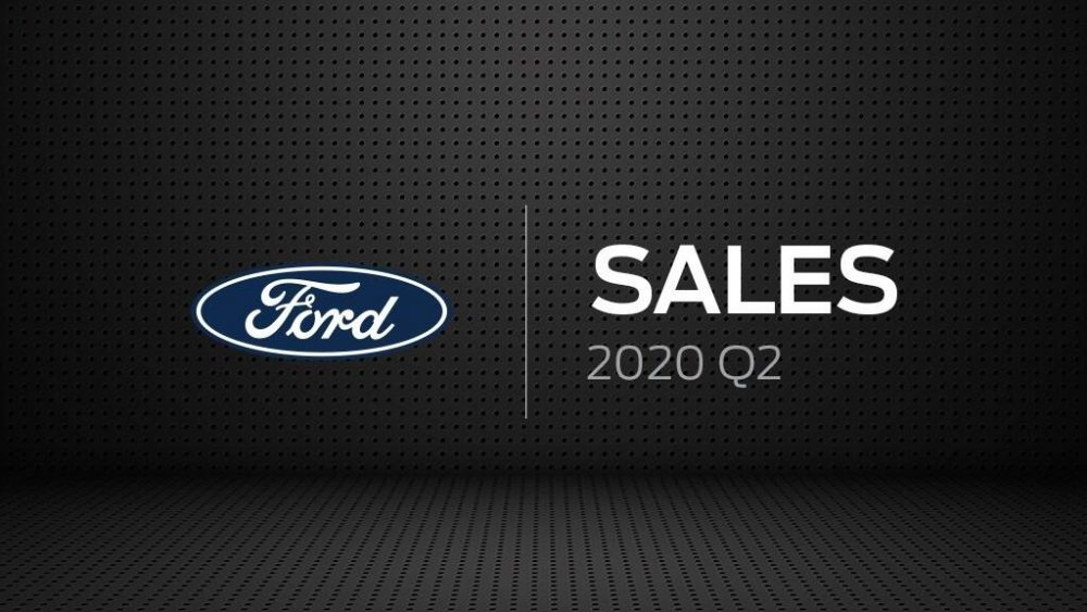 Ford Sales Q2 2020