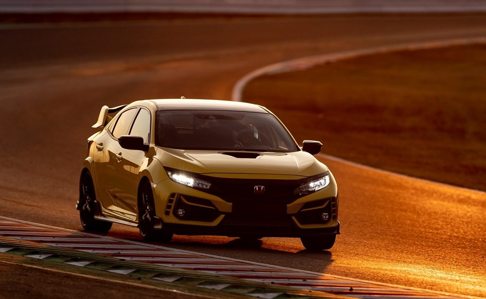 Honda Civic Type R Limited Edition sets a Suzuka track record