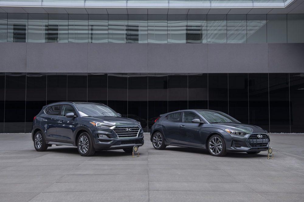 Hyundai Tucson and Hyundai Veloster initial quality