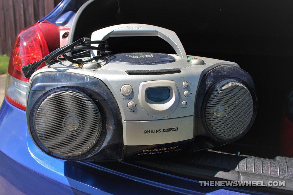 stereo radio boom box party music