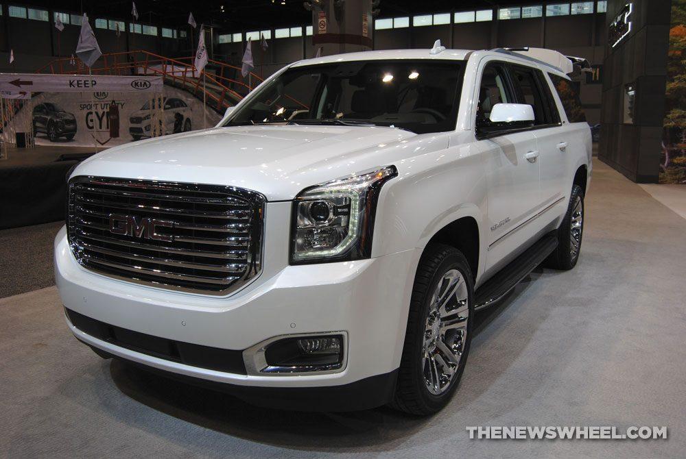 2018 GMC Yukon XL at the 2018 Chicago Auto Show