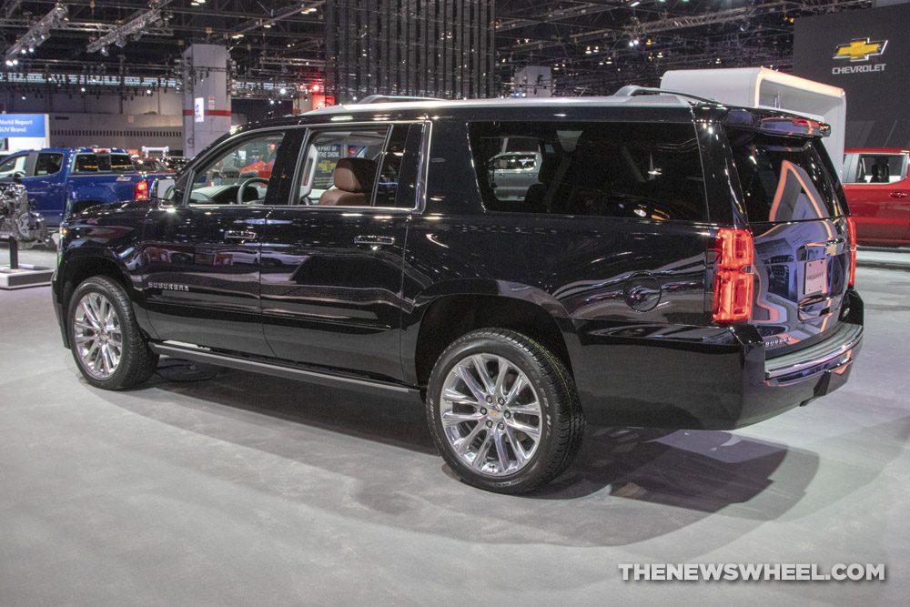 2019 Chevrolet Suburban at the 2019 Chicago Auto Show