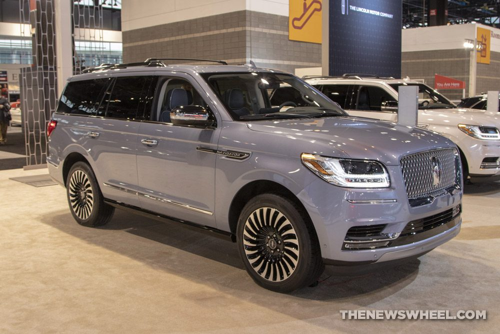 2019 Lincoln Navigator at the 2019 Chicago Auto Show