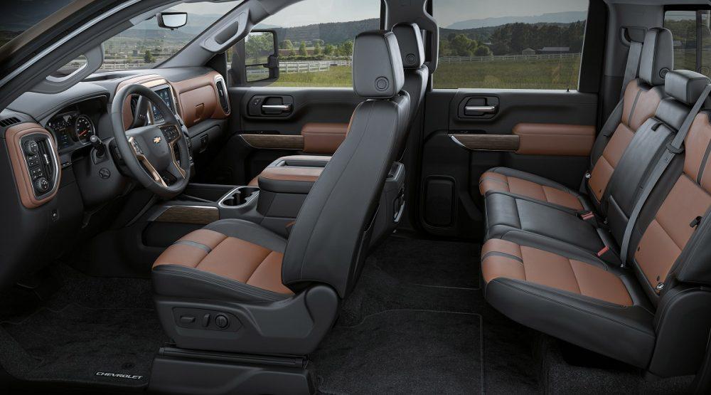 2020 Chevrolet Silverado HD roomiest second row