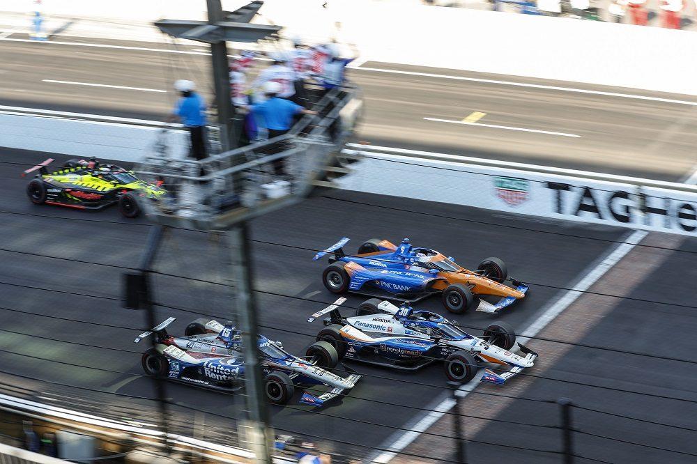 2020 Indy 500 photo finish