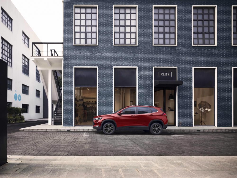 2021 Chevrolet Tracker on sale in Mexico
