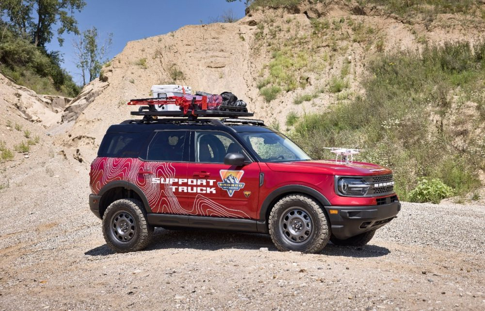 2021 Ford Bronco Sport Off-Roadeo Adventure Patrol