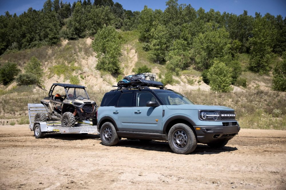 2021 Ford Bronco Sport TOW RZR