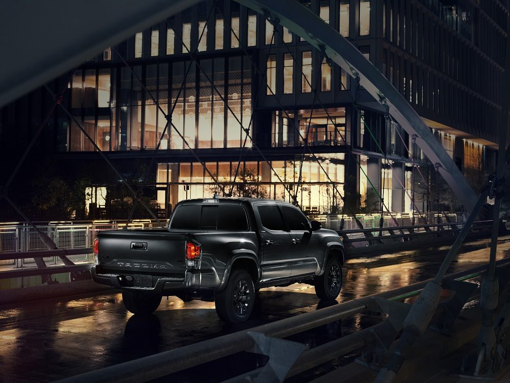 2021 Toyota Tacoma Nightshade rear+side