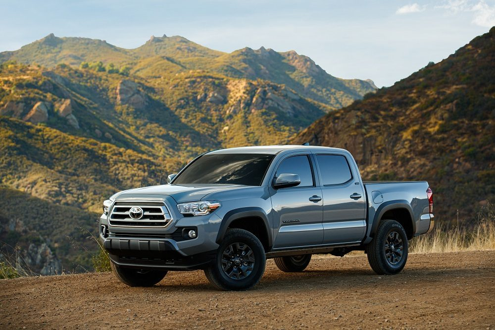 2021 Toyota Tacoma Trail Edition exterior parked