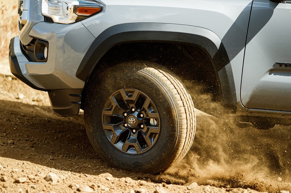 2021 Toyota Tacoma Trail Edition front wheel
