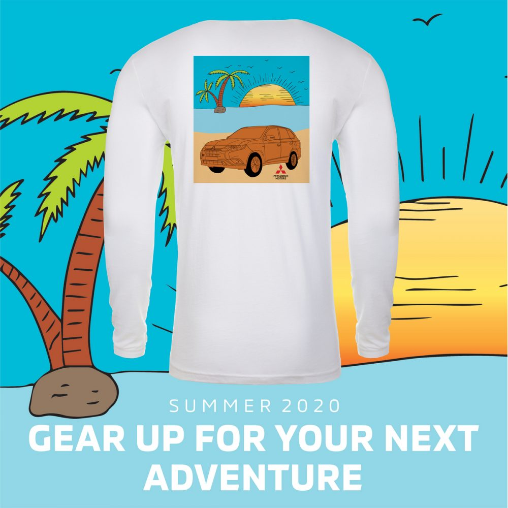 Mitsubishi Outlander shirt. MiGEAR merchandise