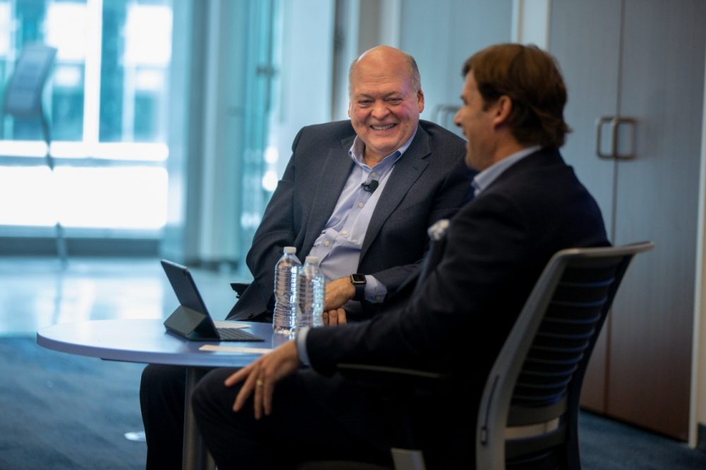 Jim Hackett retiring, Farley named new CEO