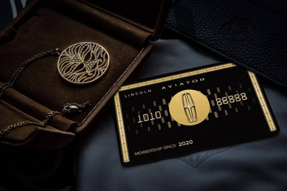Lincoln Aviator Presidential Card China