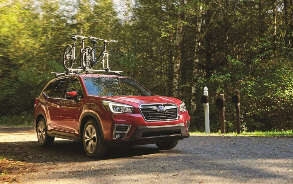 The Subaru Forester, July, 2020's best-selling model