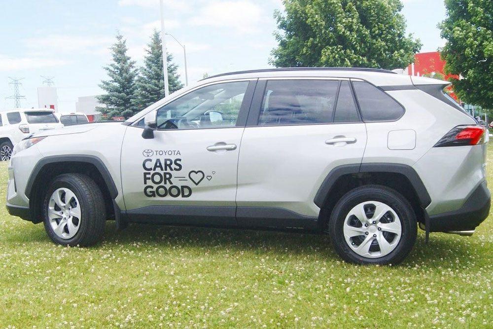 Toyota RAV4 loaned to Bowman Older Adults Association as part of Cars For Good program