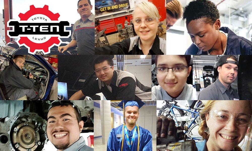 Toyota T-TEN certified technician program