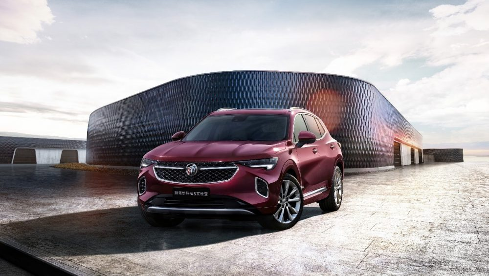 China-exclusive Buick Enclave S
