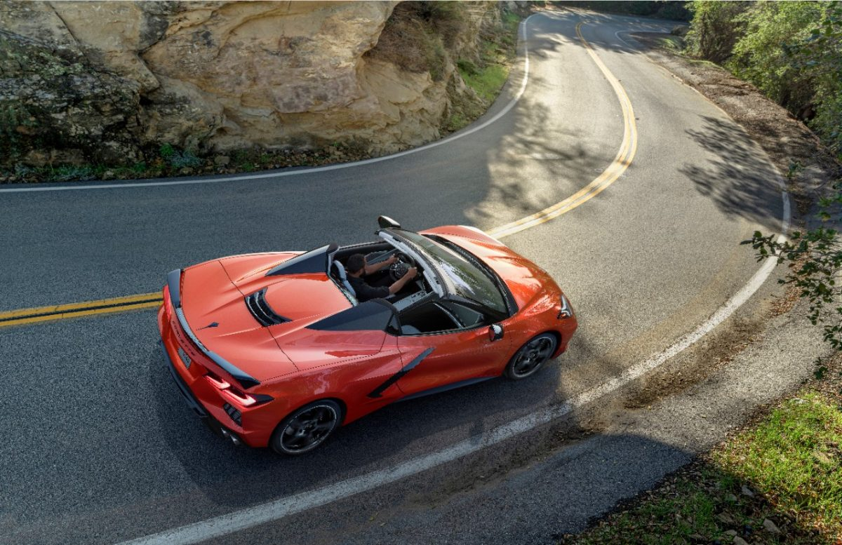 The 2020 Chevrolet Corvette Stingray Convertible. Clean your convertible's soft top.