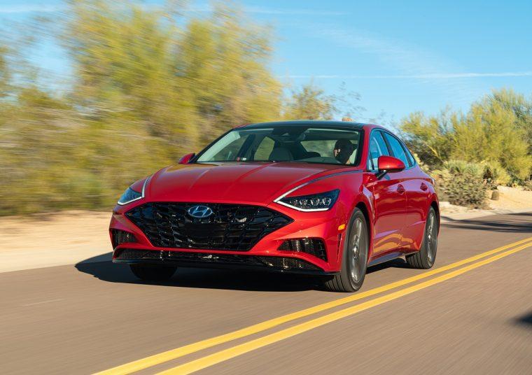 2020 Hyundai Sonata sales